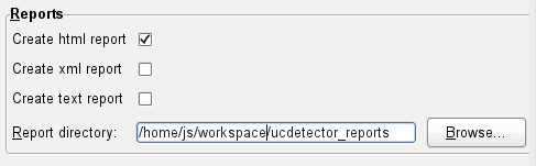 UCDetector preferences